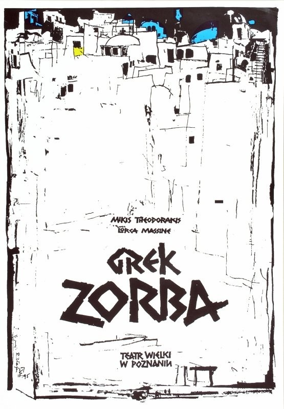 Ryszard Kaja Grek Zorba Poznań