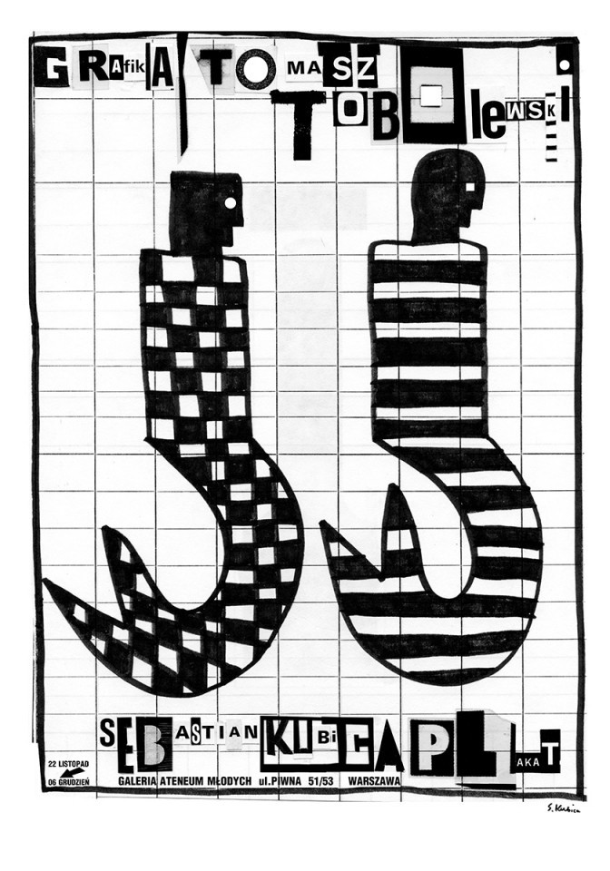 Tomasz Tobolewskis Grafik, Sebastian Kubicas Plakat
