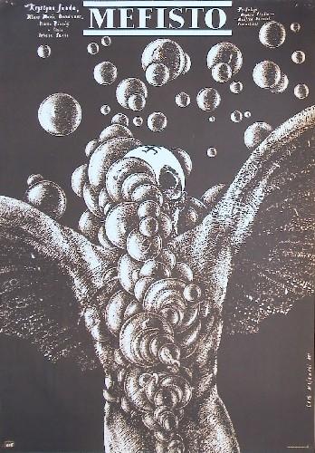 Mefisto Istvan Szabo Majewski poster