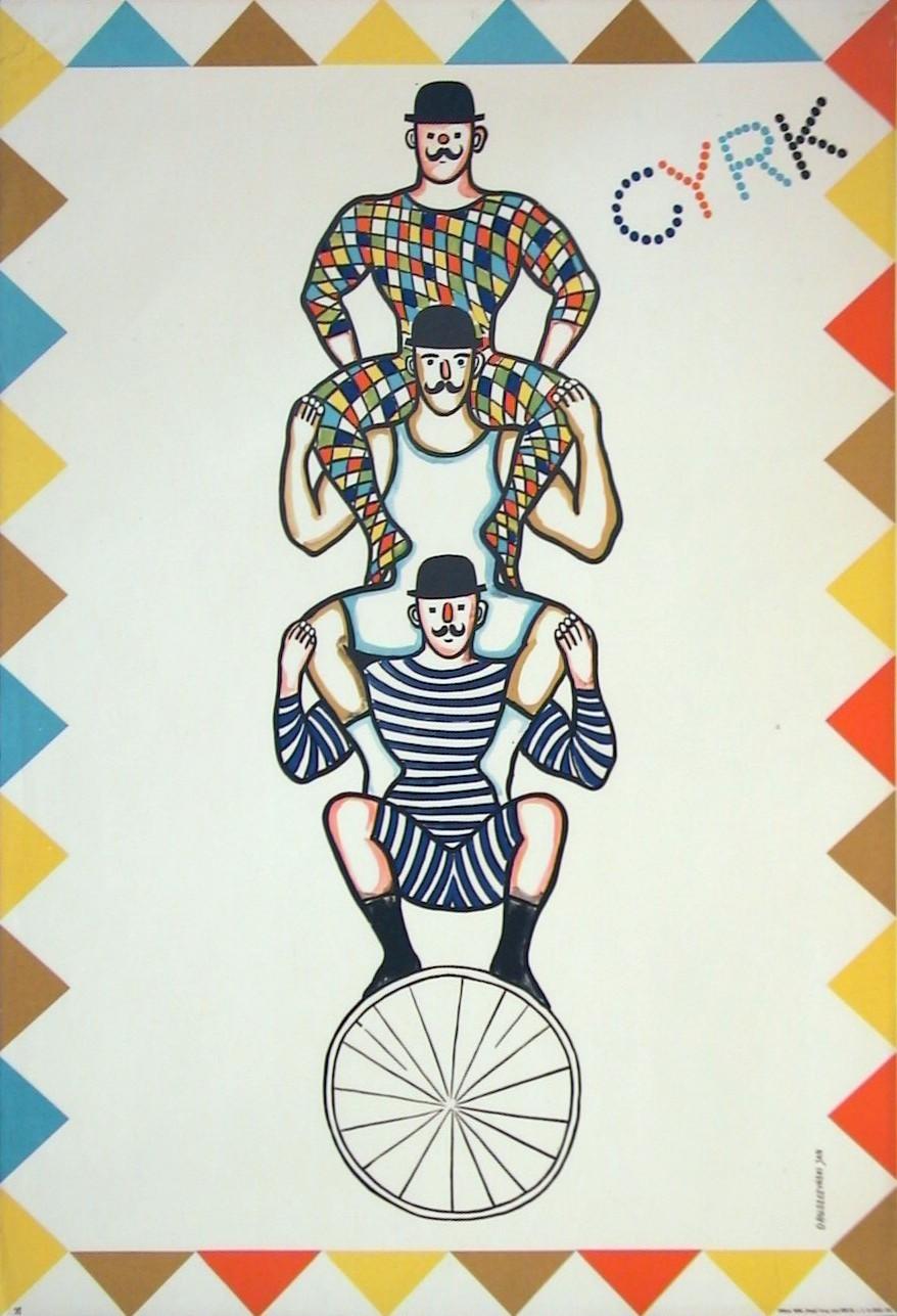 Cyrk 3 atleci na rowerze (Default)