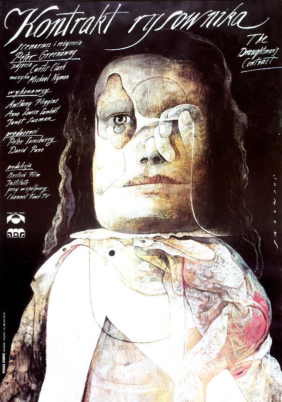 Kontrakt des Zeichners Peter Greenaway