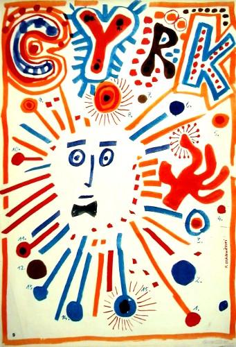 Franciszek Starowieyski Circus Poster