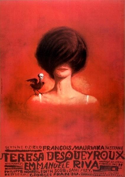 Teresa Desqueyroux Georges Franju (filmposter)