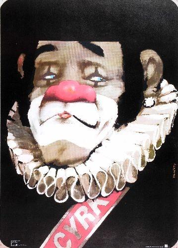 Zirkus Clown mit Krause