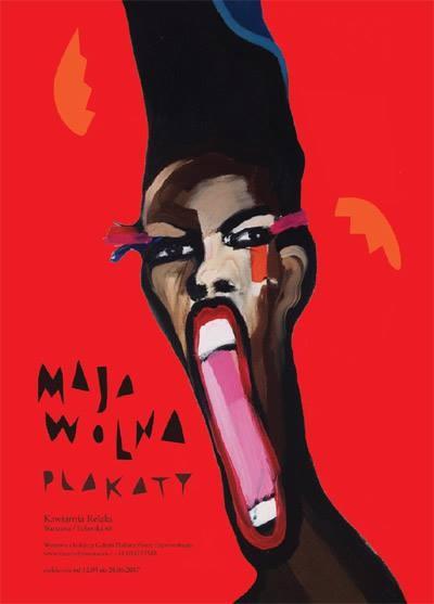 Maja Wolna Plakatausstellung