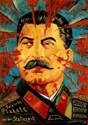 Polnische Plakate aus der Stalinzeit