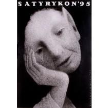 Satyrykon 1995 Jerzy Czerniawski Polnische Plakate