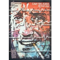 Hinter dem Rampenlicht Bob Fosse Lex Drewinski Polnische Plakate