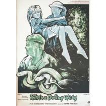 Fluch des Schlangentals Marek Piestrak Witold Dybowski Polnische Plakate