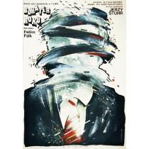 Held des Jahres Feliks Falk Witold Dybowski Polnische Plakate