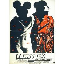 New York, 4 Uhr morgens Krzysztof Krauze Witold Dybowski Polnische Plakate
