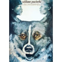 Szklane paciorki Igor Nikolayev Maria Ekier Polnische Plakate