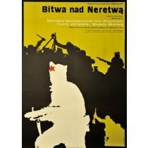 Schlacht an der Neretva Jakub Erol Polnische Plakate