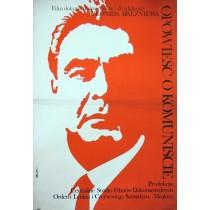 Story of the communist  Jakub Erol Polnische Plakate