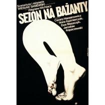 Fasannensaison Wiesław Saniewski Jakub Erol Polnische Plakate