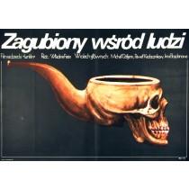 Verloren unter Lebenden Vladimir Fetin Jakub Erol Polnische Plakate