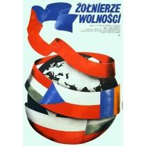 Soldaten der Freiheit Jakub Erol Polnische Plakate