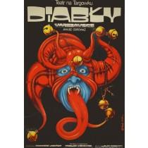 Teufel von Warschau Jakub Erol Polnische Plakate