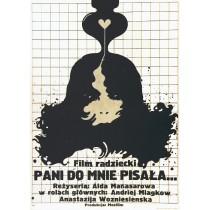 Vy mne pisali Aida Manasarova Jakub Erol Polnische Plakate