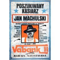 Vabanque 2. Retourkutsche Juliusz Machulski Jakub Erol Polnische Plakate