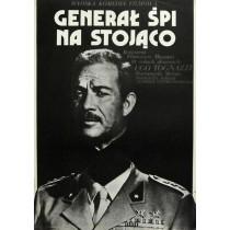 Generale dorme in piedi Jakub Erol Polnische Plakate