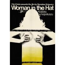 Frau mit dem Hut Jakub Erol Polnische Plakate