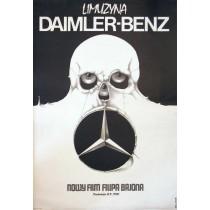 Daimler-Benz Limousine Jakub Erol Polnische Plakate