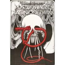 Jäger des verlorenen Schatzes Jakub Erol Polnische Plakate
