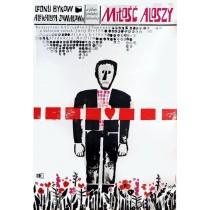 Aljoschas Liebe Jerzy Flisak Polnische Plakate