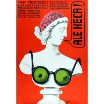 Au-u! Jerzy Flisak Polnische Plakate