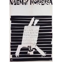 Bittere Leben, Der Meuchelmörder Jerzy Flisak Polnische Plakate