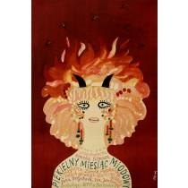 Devilish Honeymoon Jerzy Flisak Polnische Plakate