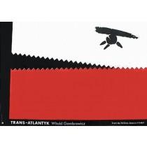 Trans-Atlantyk Eugeniusz Get Stankiewicz Polnische Plakate