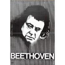 Beethoven - Tage aus einem Leben Horst Seemann Wiktor Górka Polnische Plakate