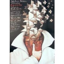100. Jubiläum der Theaterpremiere von Totenfeier Mieczysław Górowski Polnische Plakate