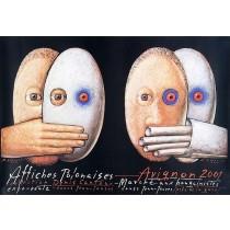 Affiches Polonaises 2001 Mieczysław Górowski Polnische Plakate