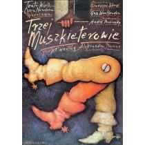Drei Musketiere Mieczysław Górowski Polnische Plakate