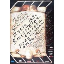 Das Leben als eine tödliche Krankheit Krzysztof Zanussi Mieczysław Górowski Polnische Plakate