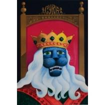 Zirkus König Löwe Hubert Hilscher Polnische Plakate
