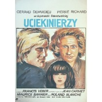 Fluechtigen Francis Veber Maria Ihnatowicz Polnische Plakate