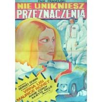 Liebenden von Etretat Sergio Gobbi Maria Ihnatowicz Polnische Plakate