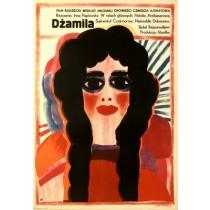 Sehnsucht nach Djamila Irina Poplavskaya Maria Ihnatowicz Polnische Plakate