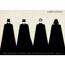 HeroMania Ryszard Kaja Polnische Plakate