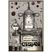 Kyberiade  Ryszard Kaja Polnische Plakate
