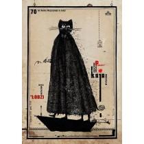 Art zu Schnurren Ryszard Kaja Polnische Plakate