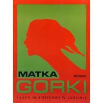 Mutter Maxim Gorki Leonard Konopelski Polnische Plakate