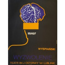Befreiung Stanisław Wyspiański Leonard Konopelski Polnische Plakate