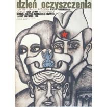 Tag, an dem die Freundschaft begann Jerzy Passendorfer Andrzej Krajewski Polnische Plakate