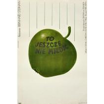 Für die Liebe noch zu mager Andrzej Krzysztoforski Polnische Plakate