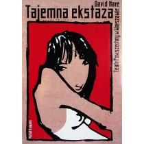 Geheime Verzückung, David Hare Michał Książek Polnische Plakate